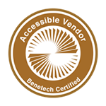 Accessible Vendor - Benetech Certified